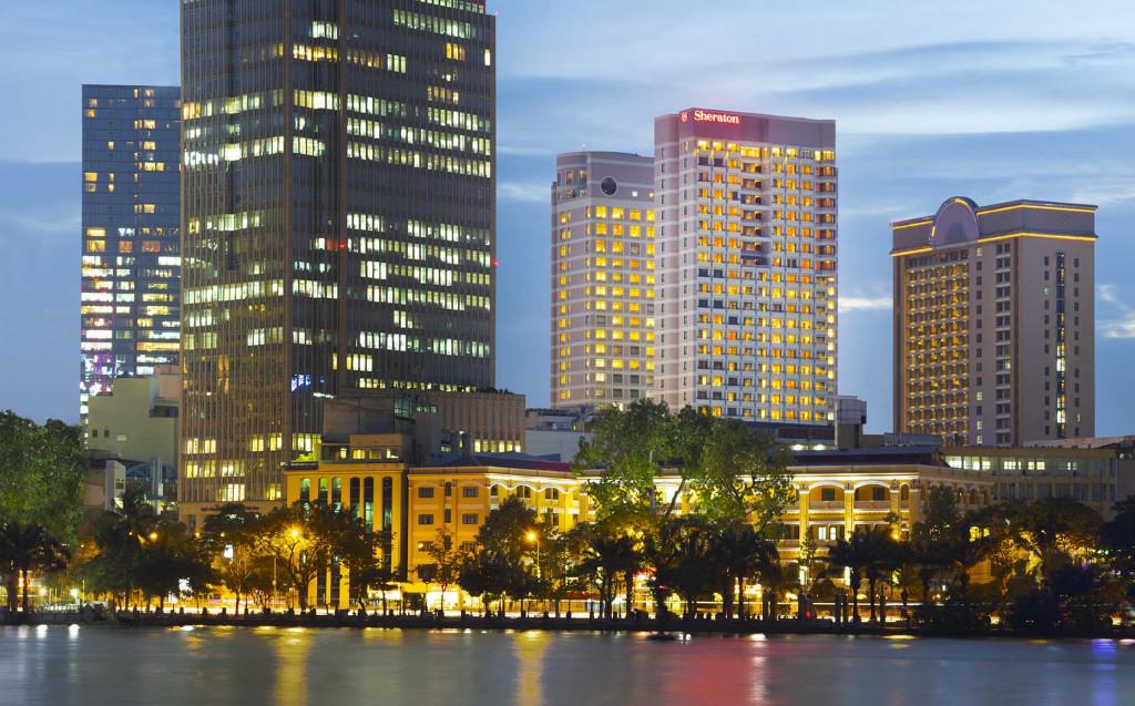 Khách sạn 5 sao tọa lạc ở vị trí đắc địa tại trung tâm quận 1