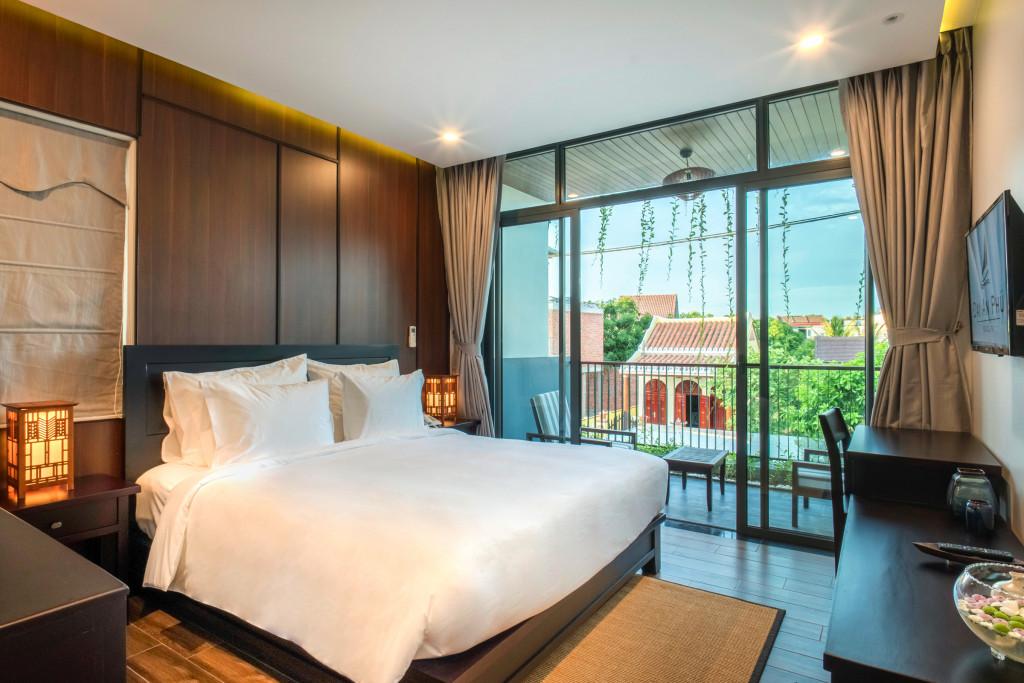 Phòng nghỉ được thiết kế theo hướng hiện đại, đảm bảo ánh sáng tự nhiên và thoáng