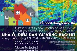 Thi thiết kế nhà ở an toàn với biến đổi khí hậu khu vực ven biển