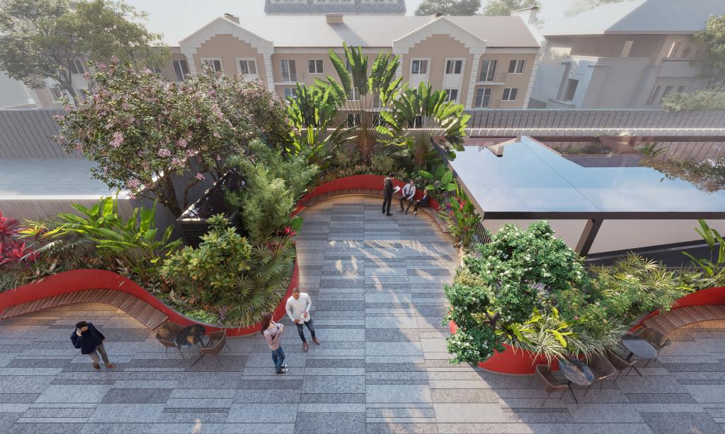 Thiết kế lấy cảm hứng từ ý tưởng Vườn Việt