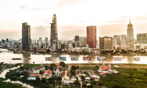 Thị trường văn phòng cho thuê trung tâm TP HCM. Ảnh: Lucas Nguyễn