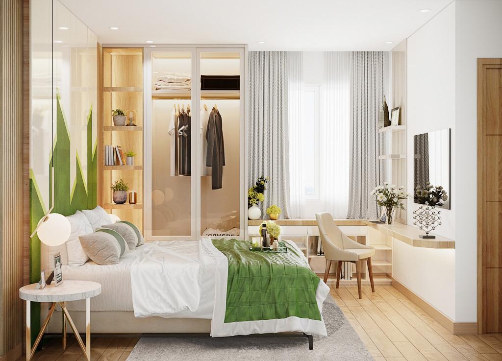 100% căn hộ thiết kế thông minh phù hợp với nhu cầu sử dụng của cư dân