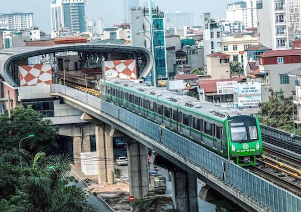khối lượng xây dựng toàn bộ dự án đường sắt Cát Linh - Hà Đông đạt được 99%, thiết bị đã cơ bản được lắp đặt hoàn chỉnh phục vụ công tác vận hành thử