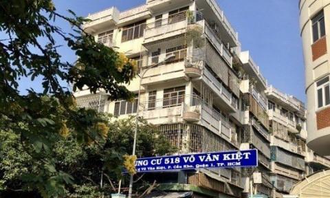 Di dời khẩn cấp người dân ở chung cư xây dựng trước năm 1975 tại TPHCM