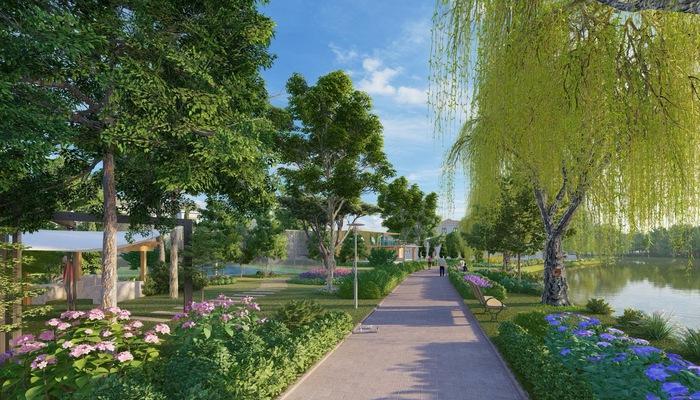 The Grand Villas đẹp tựa như những ngôi làng ở Hà Lan được phủ bởi màu xanh