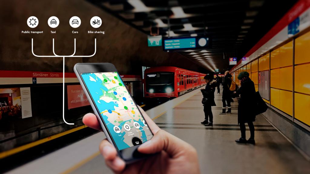 App Mobility - ứng dụng di chuyển thông minh trên điện thoại thông minh tại Mỹ / Nguồn: techcrunch.com