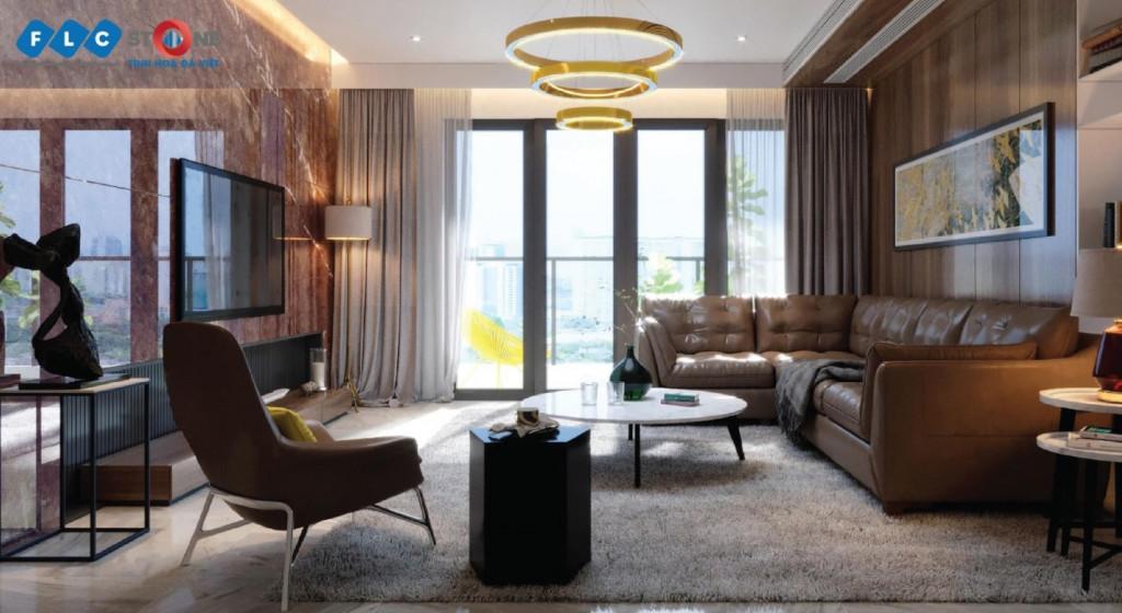 Đá tự nhiên thổi luồng sinh khí từ thiên nhiên vào ngôi nhà hiện đại