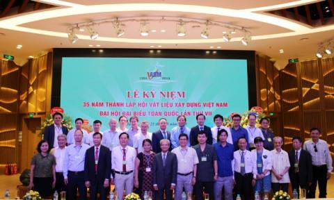 Hội Vật liệu xây dựng Việt Nam tổ chức Đại hội đại biểu toàn quốc lần thứ VII, nhiệm kỳ 2019 – 2024