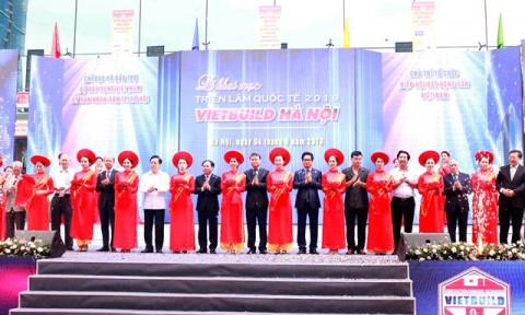 Khai mạc Triển lãm Quốc tế VIETBUILD Hà Nội 2019