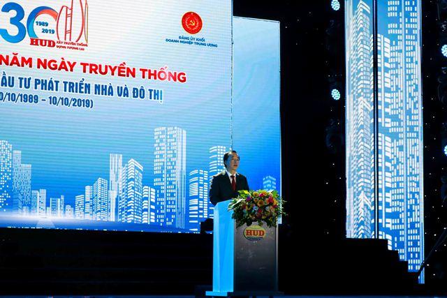 Bộ trưởng Phạm Hồng Hà phát biểu tại buổi Lễ