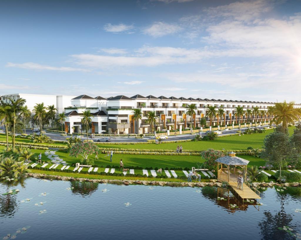 Đầu tư nhà phố ven sông làm mini hotel đang là xu hướng