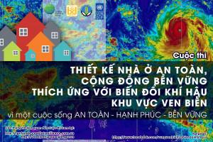 """Công bố thể lệ cuộc thi """"Thiết kế nhà ở an toàn – cộng đồng bền vững với biến đổi khí hậu khu vực ven biển"""""""