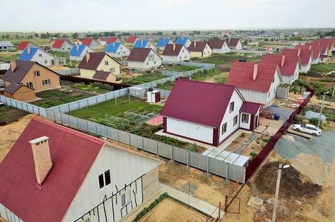 Những ngôi nhà làm từ sản phẩm tấm fibro xi măng ở Orenburg – Nga