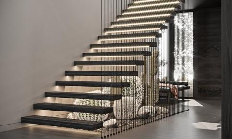 Loạt cầu thang nghệ thuật, đẹp long lanh khiến chủ nhà nào cũng ao ước