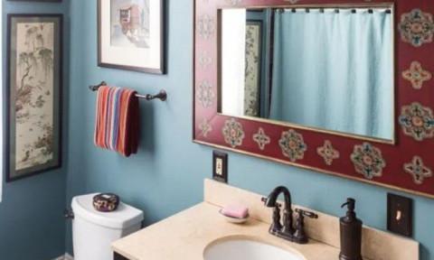 Những ý tưởng tạo vẻ đẹp cuốn hút ánh nhìn cho phòng tắm nhỏ