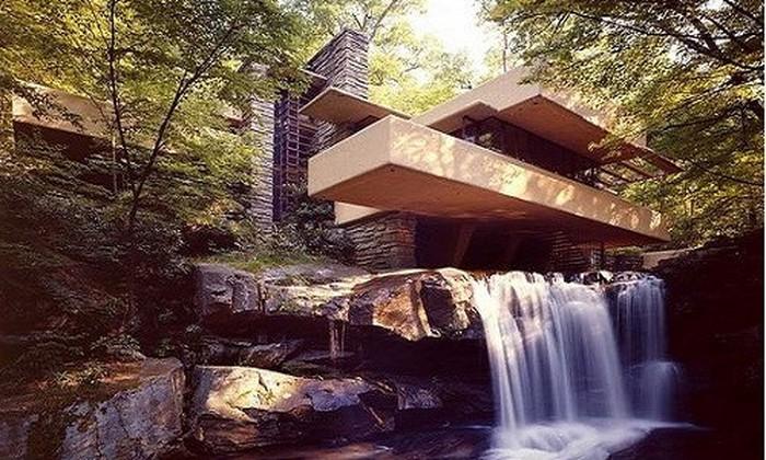 Đây là công trình độc đáo của kiến trúc sư tài năng Frank Lloyd Wright.