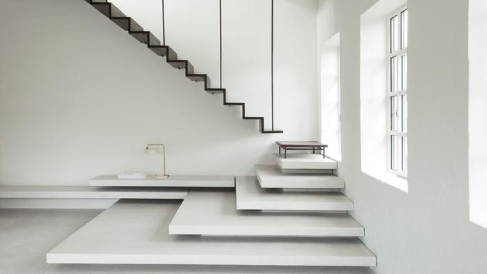 Một trong những mẫu cầu thang tuyệt vời giúp bạn tiết kiệm và tận dụng từng cm không gian trong ngôi nhà của mình