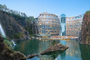 Trung Quốc xây dựng thành công khách sạn dưới lòng đất đầu tiên trên thế giới