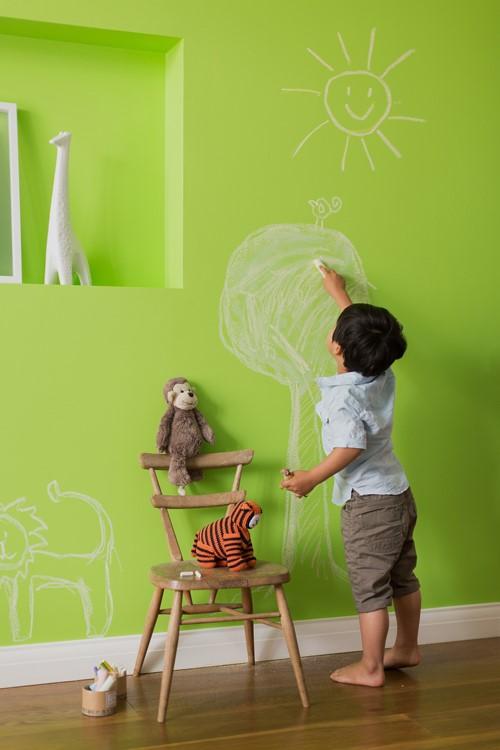 Dòng sơn dễ lau chùi là một lựa chọn hoàn hảo cho không gian sống trong lành