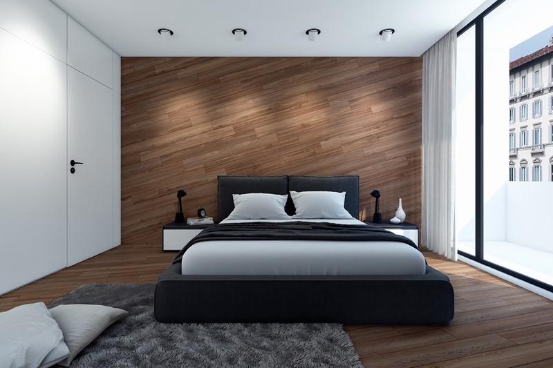 Việc trang trí tường bằng gỗ mang đến cảm giác sống động