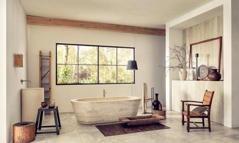 Phòng tắm đẹp nổi bật với những mẫu bồn tắm sang trọng này