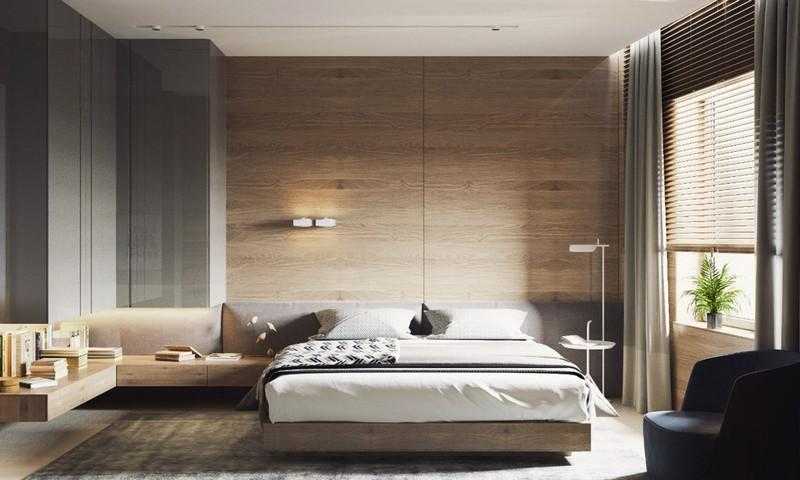 Bức tường tăng sự ấm cúng cho không gian