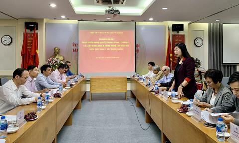 Cần cơ chế khuyến khích nghiên cứu khoa học về quy hoạch tại Hà Nội