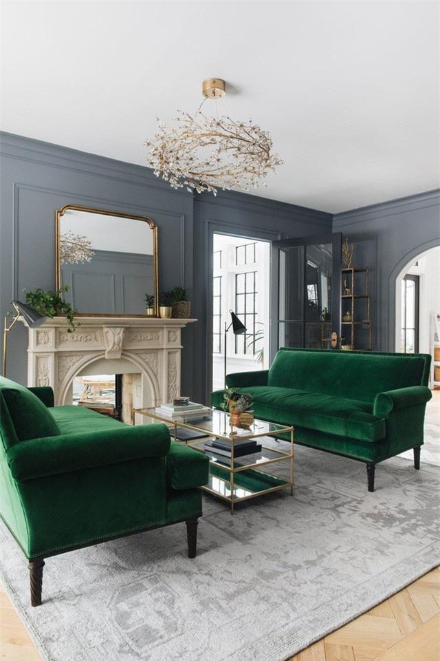 Đèn chùm phòng khách đẹp và hay thay đổi giống như hoa trên cành là một vật trang trí siêu yêu.