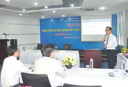 TP Đà Nẵng giới thiệu về Cổng dịch vụ dữ liệu và Ứng dụng cho và nhận