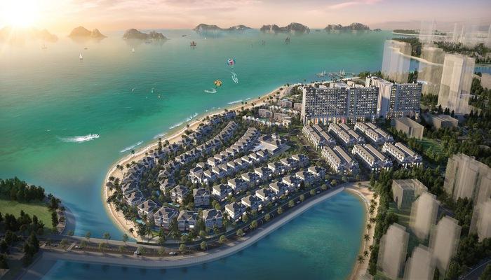 Toàn cảnh dự án Grand Bay Halong do BIM Land làm chủ đầu tư