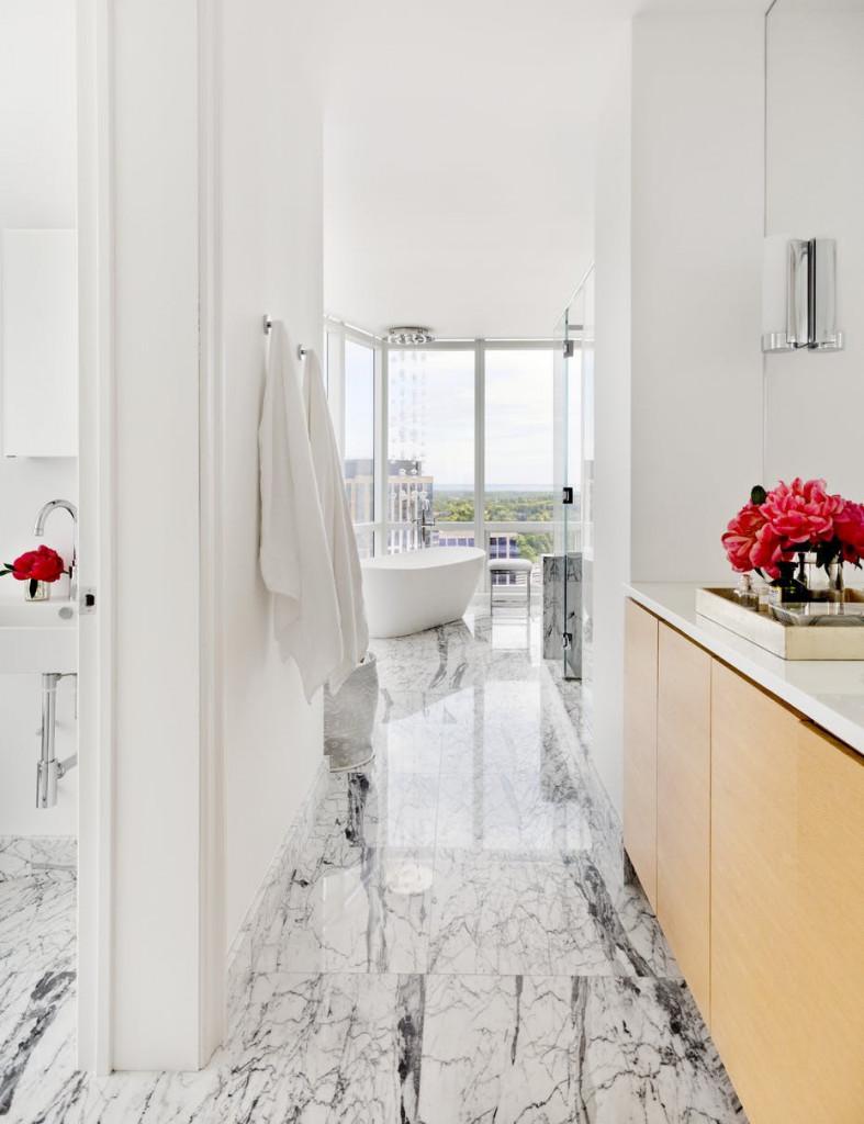Những gam màu chủ đạo thường được các gia đình sử dụng cho nhà tắm có màu trắng, vàng kem, xanh bạc hà, xanh da trời