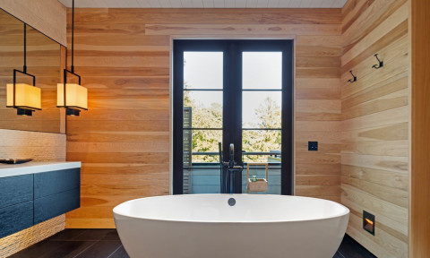 Những mẫu phòng tắm nhỏ nhắn lại sạch mát