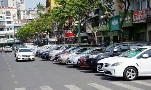 TP.HCM đang thu phí đỗ xe 23 tuyến đường - Ảnh: Internet
