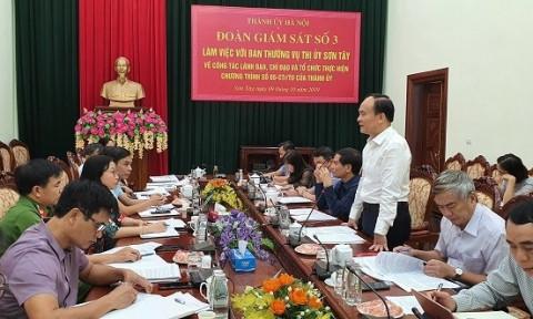 Hà Nội: Thực hiện giám sát việc chấp hành pháp luật về quy hoạch xây dựng