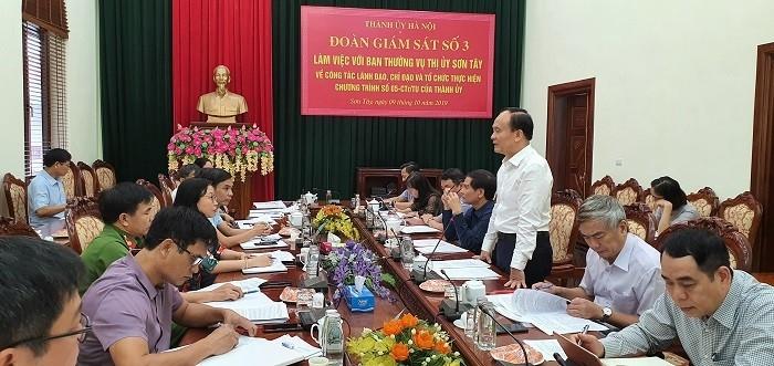 Hoạt động giám sát của Hội đồng nhân dân thành phố Hà Nội ngày càng toàn diện, hiệu quả. Ảnh minh họa