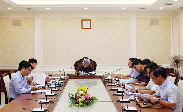 Thứ trưởng Bùi Phạm Khánh chủ trì cuộc họp về báo cáo kết quả thực hiện Đề án 1961