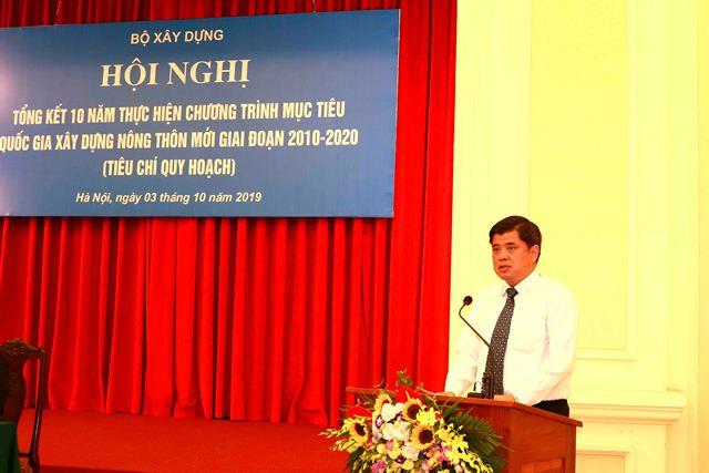 Thứ trưởng Bộ Nông nghiệp và phát triển nông thôn Trần Thanh Nam phát biểu tại Hội nghị