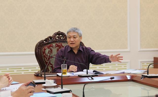 Thứ trưởng Bùi Phạm Khánh chỉ đạo Học viện AMC và Vụ Tổ chức cán bộ sớm hoàn thành báo cáo kết quả thực hiện Đề án 1961