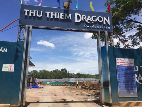 Dự án Thủ Thiêm Dragon bị cơ quan chức năng xử phạt khi xây dựng không phép