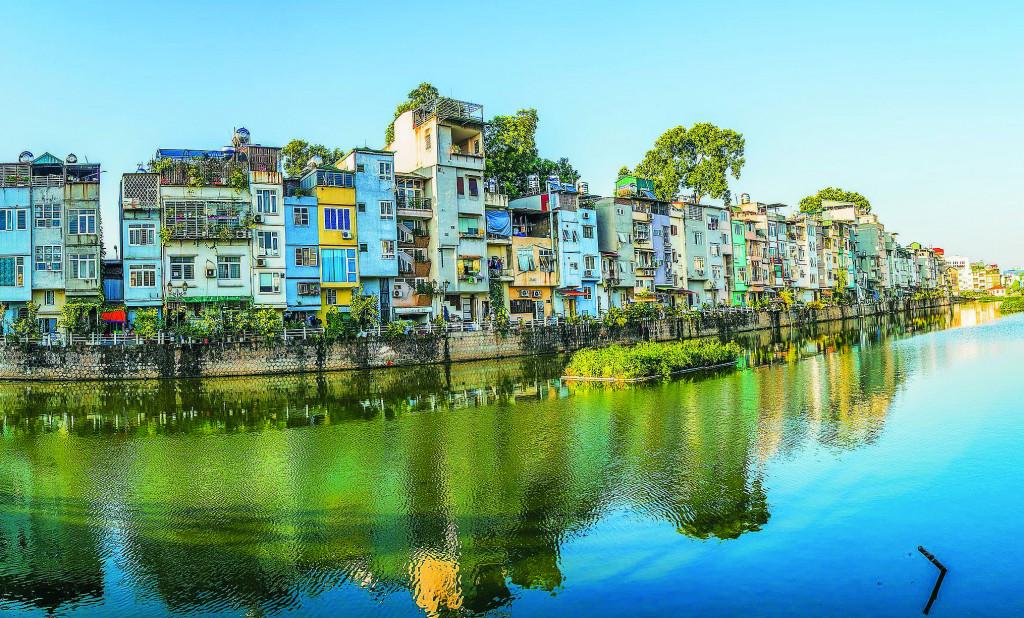 Một hình thức kiến trúc nhà liền kề trong đô thị cần được nghiên cứu để quản lý phát triển đồng bộ cảnh quan, thẩm mỹ