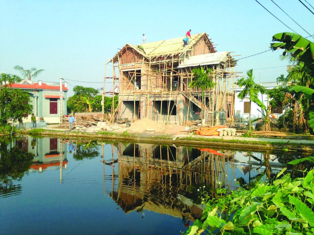 Một loại hình nhà ở nông thôn mới đang thịnh hành hiện nay