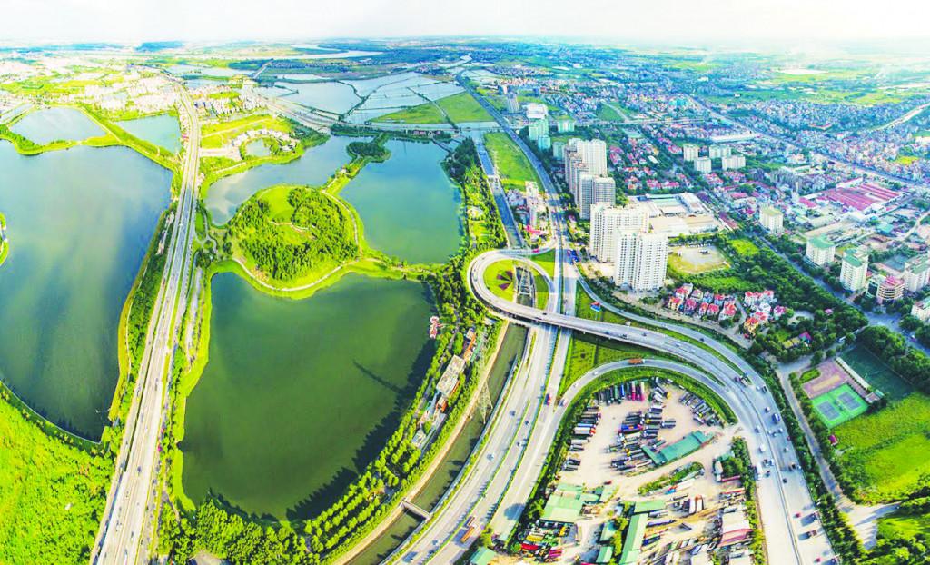 Hạ tầng đô thị khu vực ven đô đang có bước phát triển mạnh, kéo theo nhu cầu phát triển kiến trúc công trình hiện đại và đồng bộ