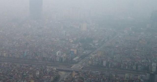 Ô nhiễm không khí ở Hà Nội luôn ở mức báo động thời gian qua (ảnh minh họa)