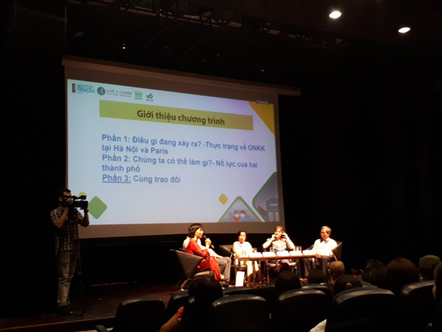 """Các chuyên gia Pháp và Việt Nam thảo luận về thực trạng ô nhiễm không khí tại hội thảo """"Hà Nội – Paris: Có biên giới nào cho ô nhiễm không khí"""""""