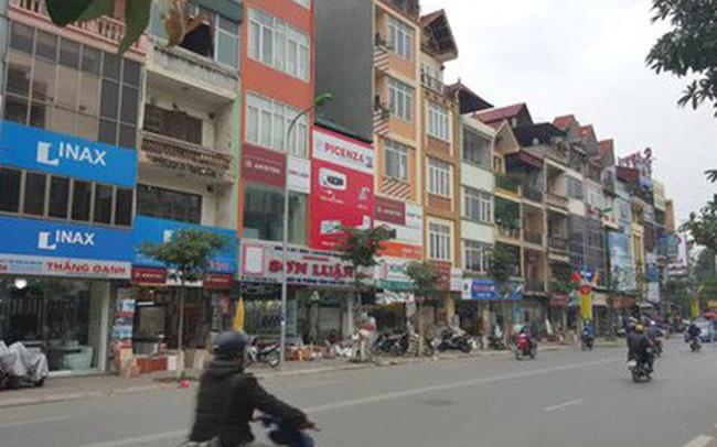 Tại Hà Nội, nhà mặt phố có mức tăng từ 3-5% khiế có quận giá nhà lên tới 330 triệu đồng/m2...