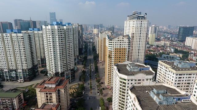Nhiều dự án trung tâm thương mại và căn hộ thương mại với quy mô, mật độ rất lớn vẫn được xây dựng tại nội thành