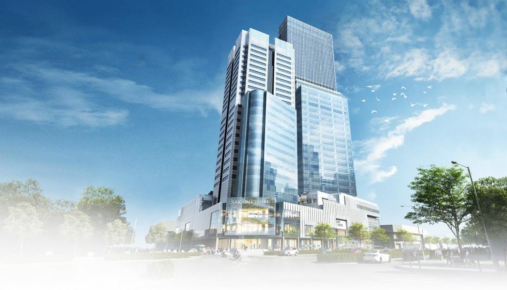 Saigon Centre Tower 2 toạ lạc trên đường Lê Lợi, Quận 1