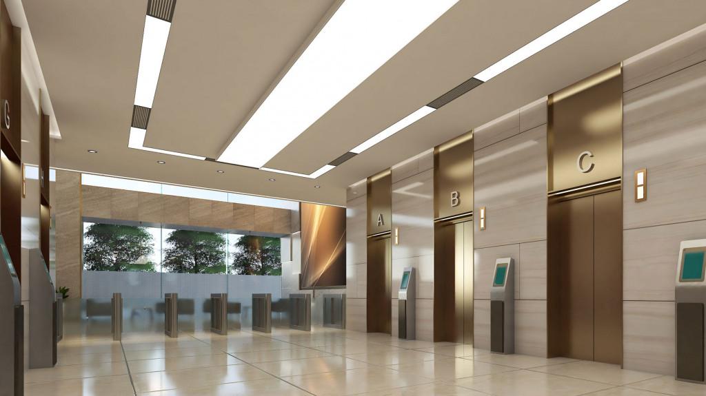 Hệ thống thang máy hiện đại, tốc độ cao của Toà nhà văn phòng Sonatus
