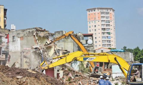Hà Nội: Không giao dự án mới với nhà đầu tư còn tồn đọng vi phạm trật tự xây dựng