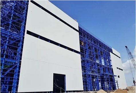 Nhà máy nhiệt điện Long Phú (Sóc Trăng) sử dụng vật liệu panel cách nhiệt